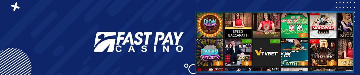 Fastpay Casino - Live Casino