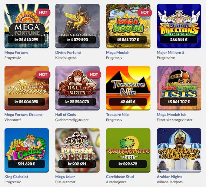 Get Lucky Casino jackpotspill