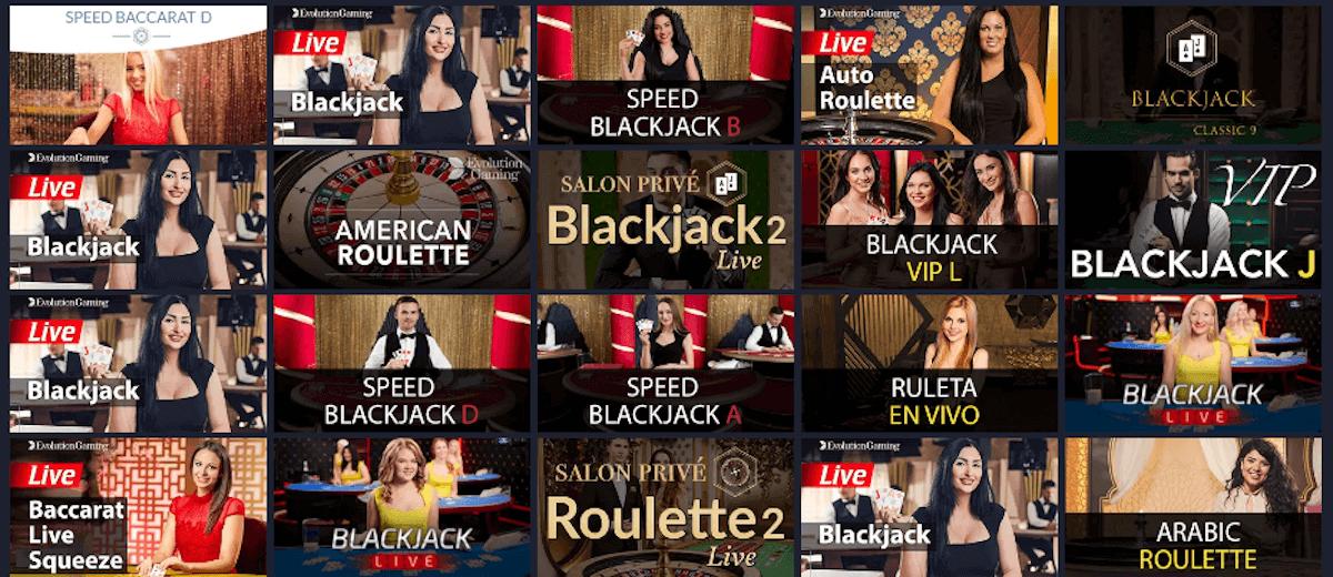 GetSlots - Live Casino