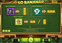 Go Bananas wildvisning nr 1