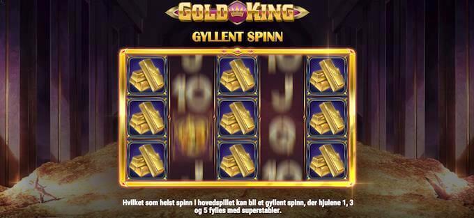 Gold King gyllent spinn