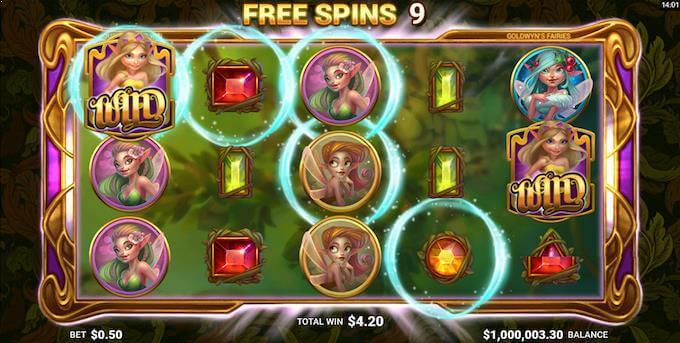 Goldwyn's Fairies free spins