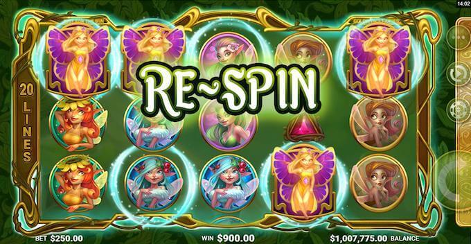 Goldwyn's Fairies re-spins
