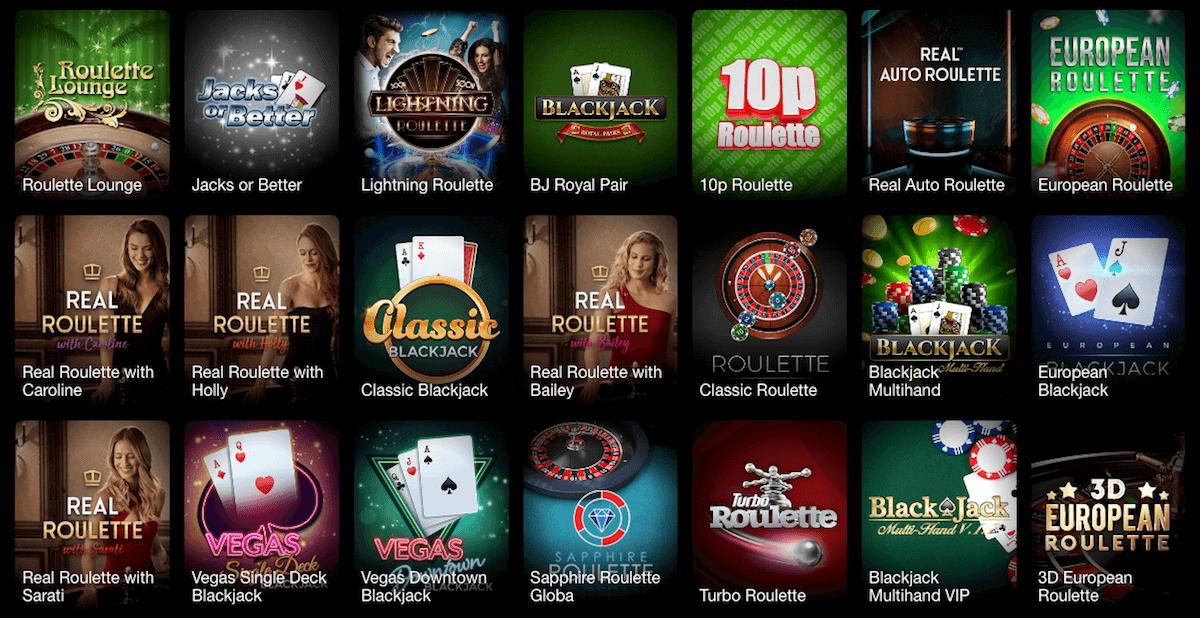 Griffon Casino - Live Casino