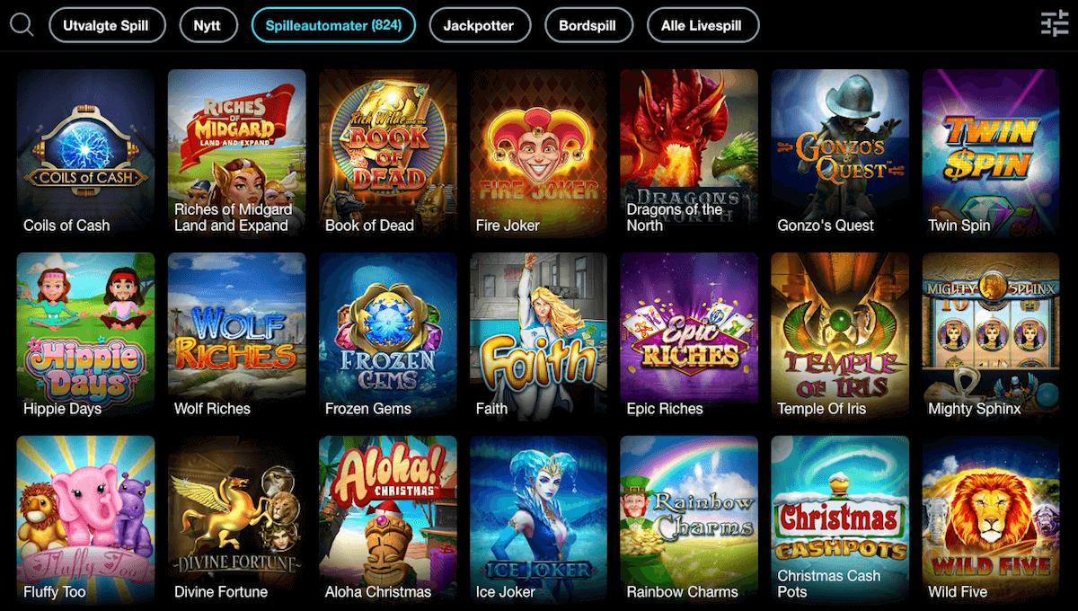 Griffon Casino spilleautomater