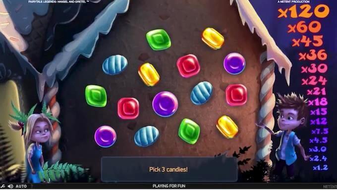 Bonusspill på spilleautomaten Fairytale Legends: Hansel and Gretel