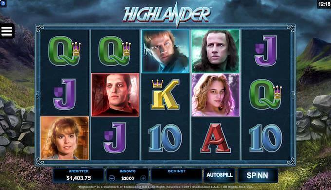 Highlander hovedspill