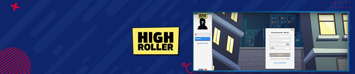 Highroller Casino registrering