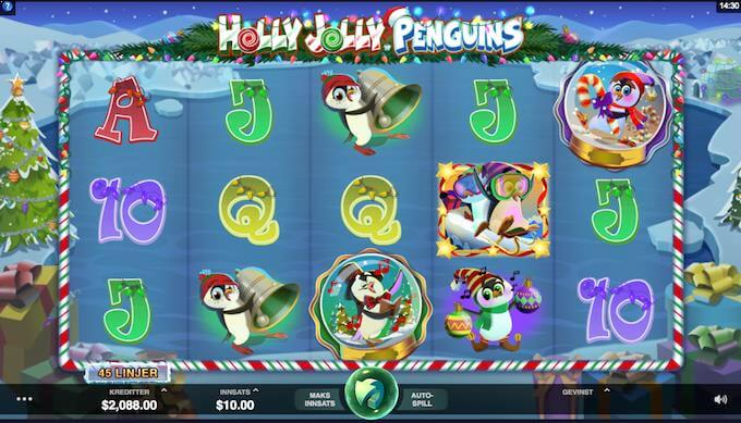 Holly Jolly Penguins hovedspill