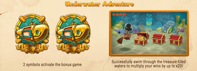 Hugo's Adventure bonusspill