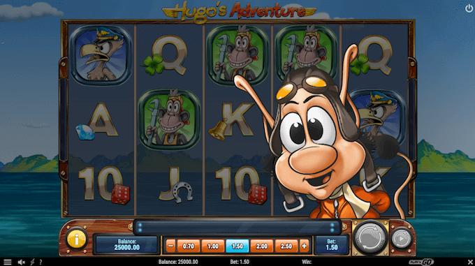 Hugo's Adventure hovedspill
