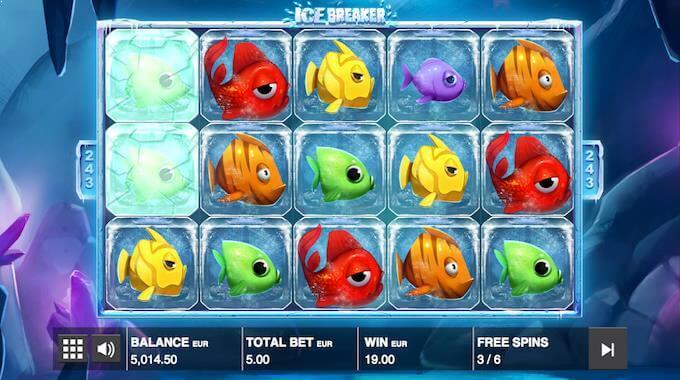 Ice Breaker free spins
