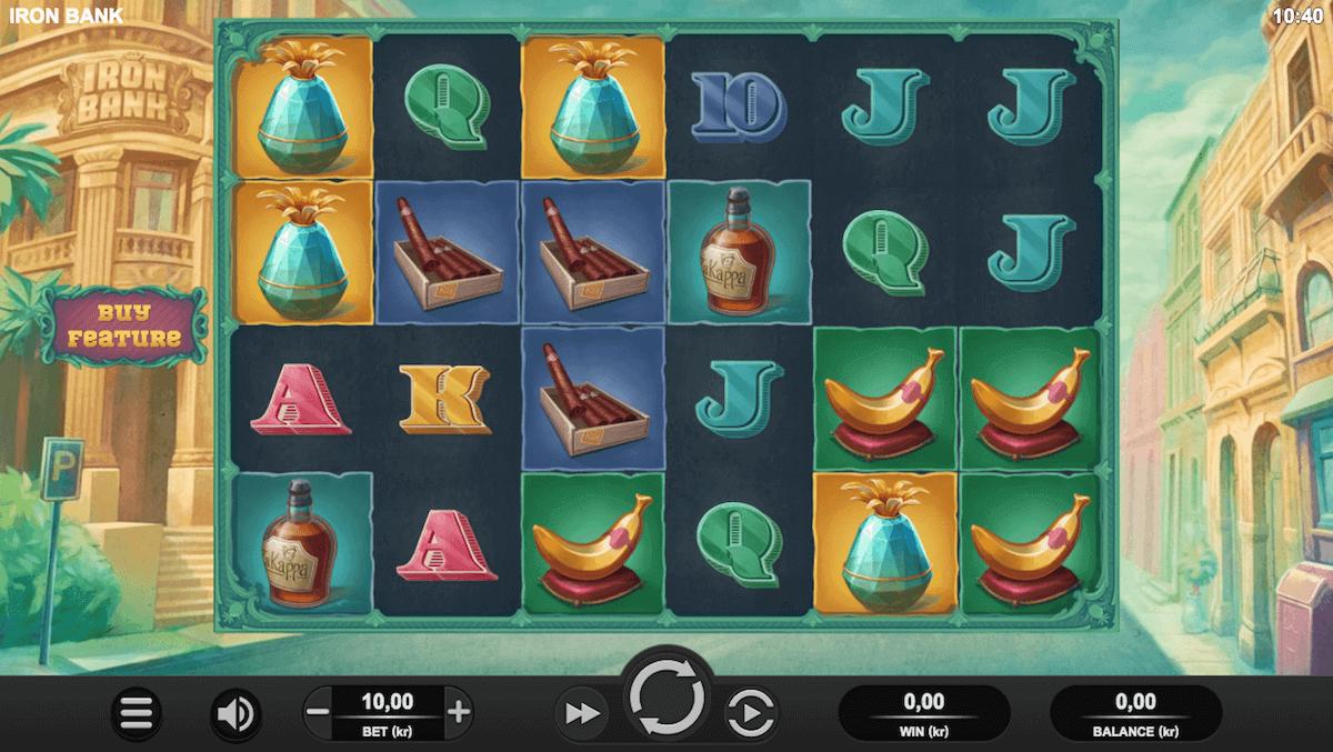Spilleautomaten Iron Bank av spillutvikleren Relax Gaming
