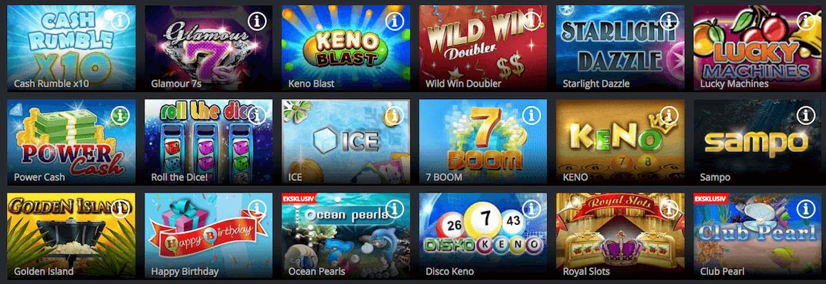 Jaak Casino skrapelodd