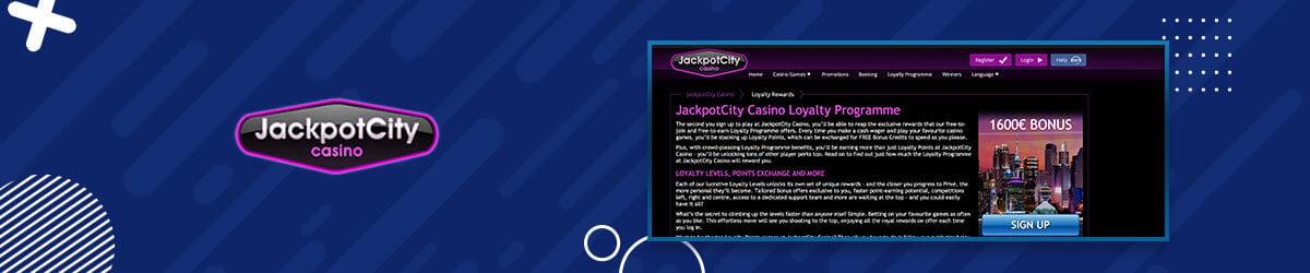 Lojalitetsbonus hos Jackpot City