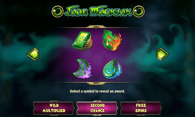 Spilleautomaten Jade Magician informasjon