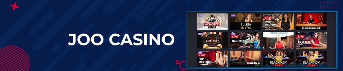 JooCasino Live Casino