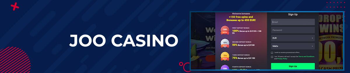 Joo Casino registrering