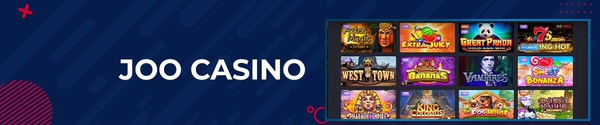 Joo Casino spilleautomater