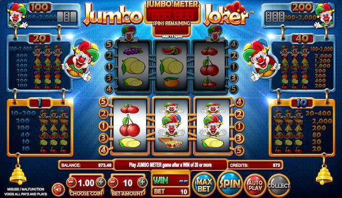 Spilleautomaten Jumbo Joker