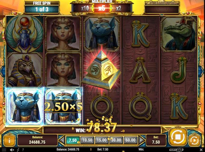 Legacy of Egypt free spins