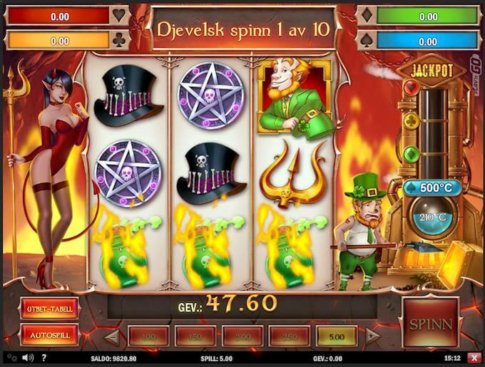 Leprechaund Goes to Hell bonusspill