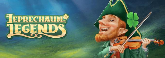 Spill spilleautomaten Leprechaun Legends hos Unibet