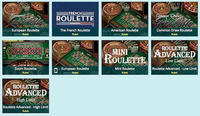 Luckland roulette