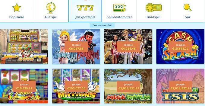 LuckyCasino jackpotspill