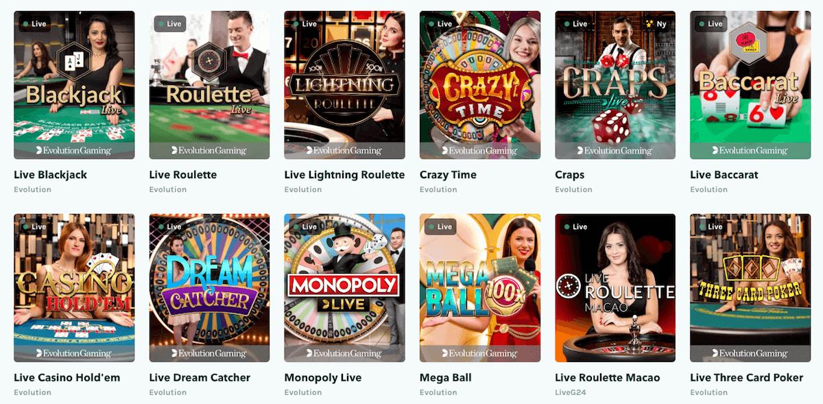 LuckyDays - Live Casino