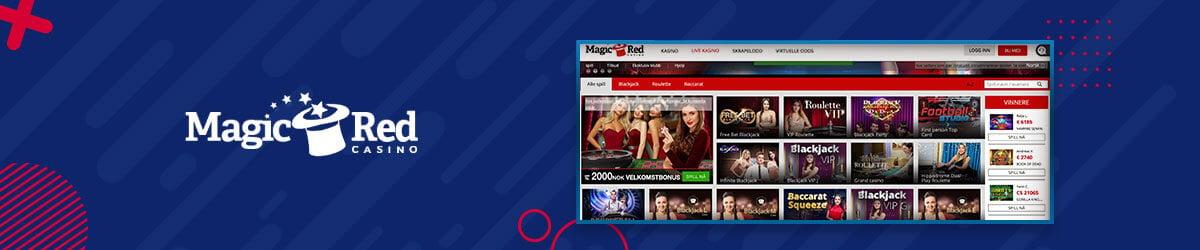 MagicRed Casino - Live Casino
