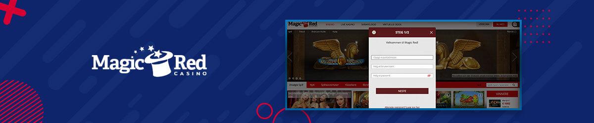MagicRed Casino registrering