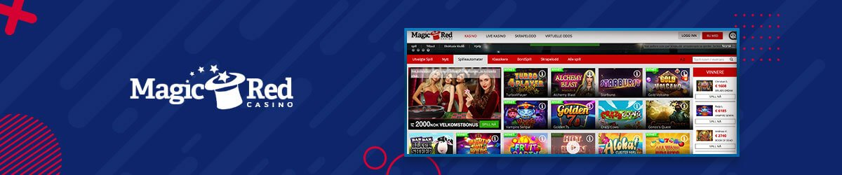 MagicRed Casino spilleautomater