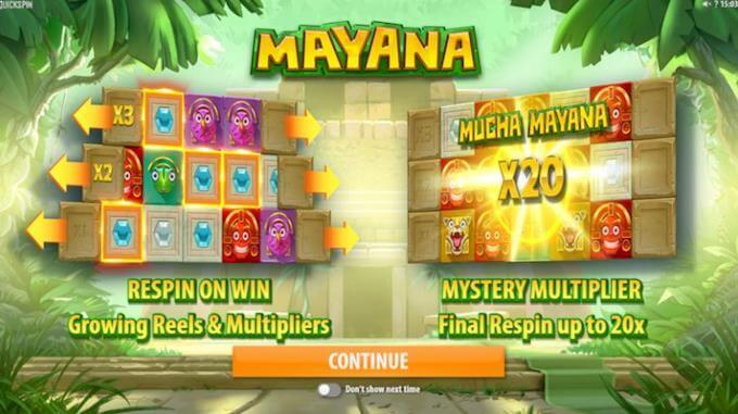 Mayana intro