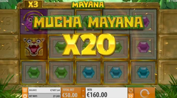Mayana multiplikator på 20x