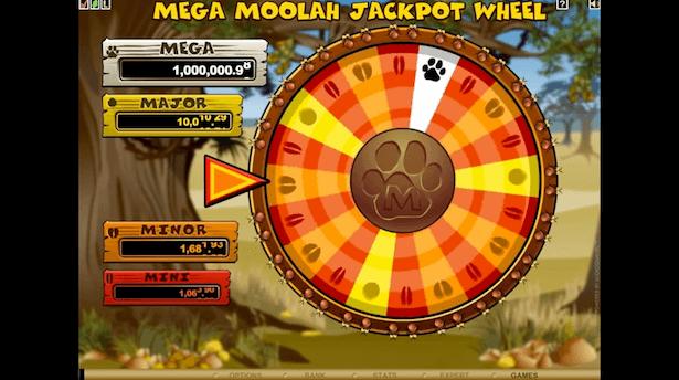 Mega Moolah bonushjul