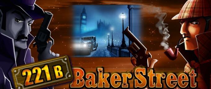 221B Baker Street er et spill fra Merkur Gaming