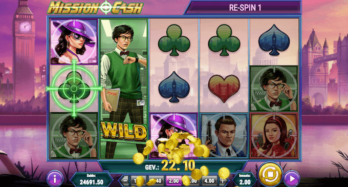 Mission Cash free spins