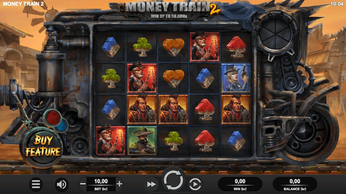 Spilleautomaten Money Train 2 av Relax Gaming