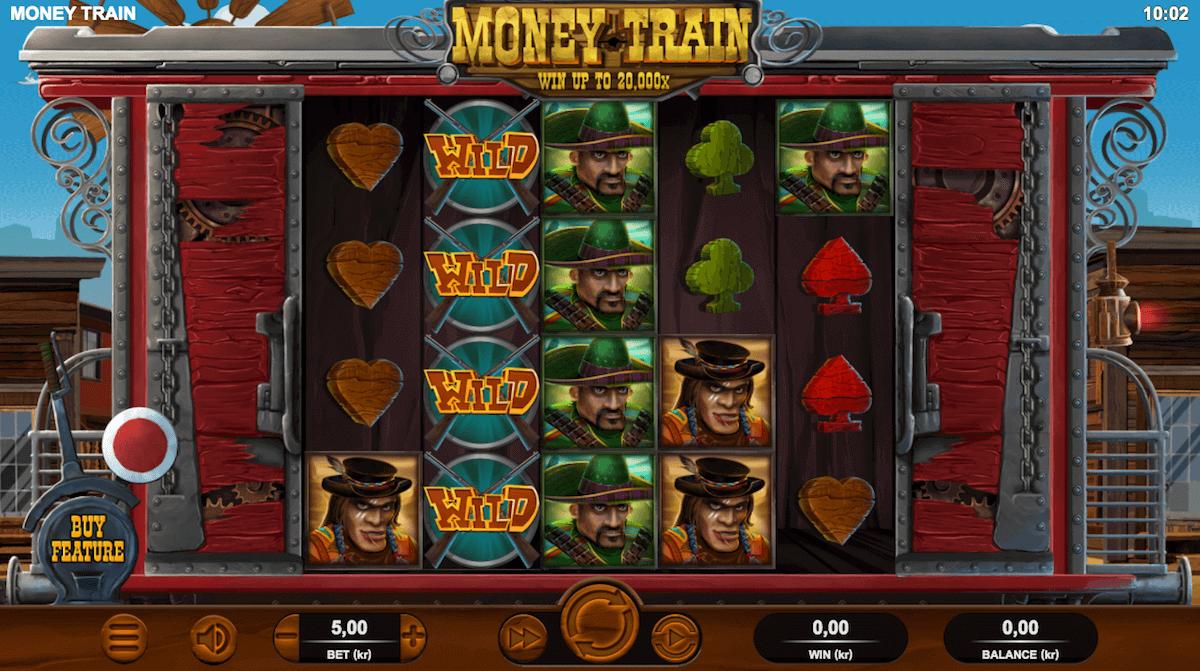 Spilleautomaten Money Train av Relax Gaming