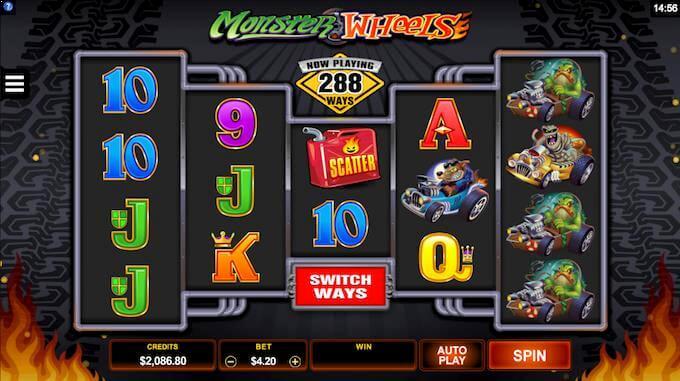 Monster Wheels hovedspill