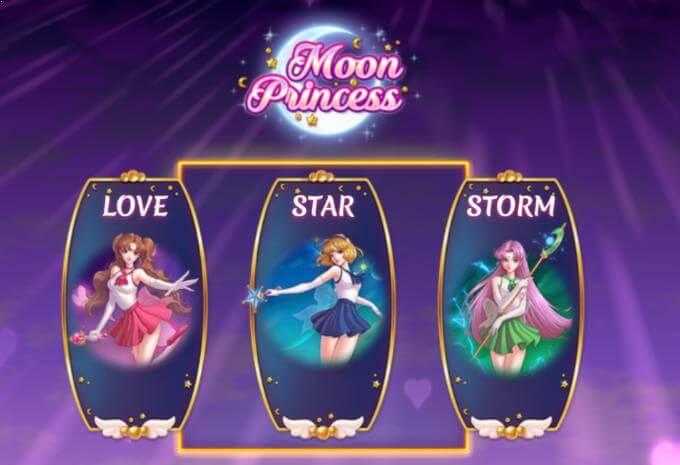 Moon Princess bonusfunksjoner