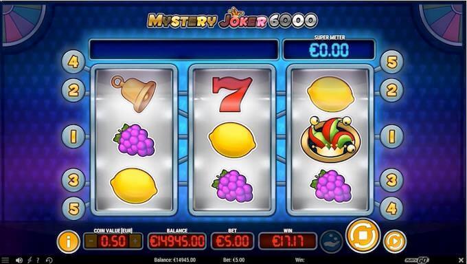 Mystery Joker 6000 hovedspill