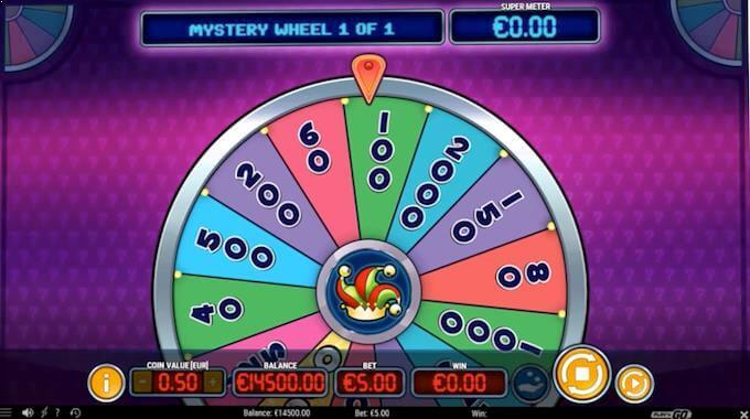 Mystery Joker 6000 - Mystery Wheel