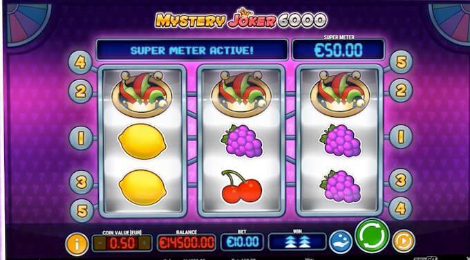 Mystery Joker 6000 Super Meter