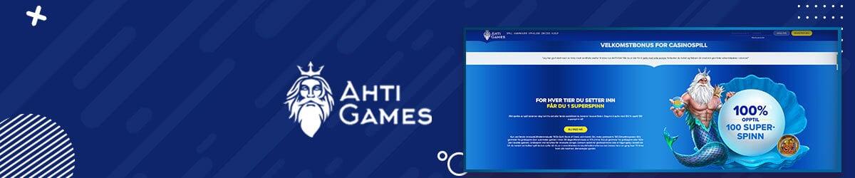 AHTI Games forside