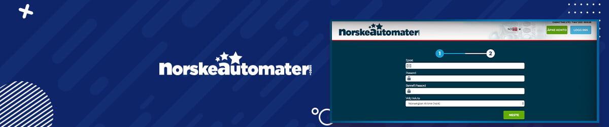 Norske Automater registrering