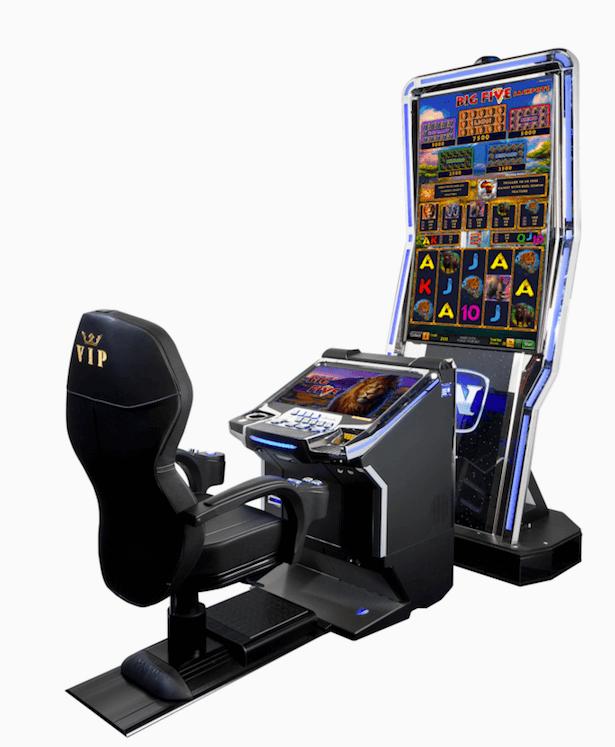 Et eksempel på en Novomatic spilleautomat