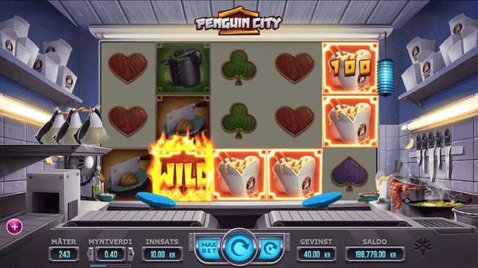Penguin City - The Penguin Escape Mode