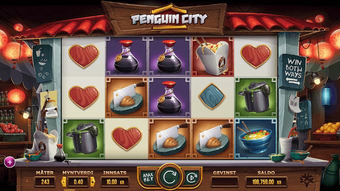 Penguin City - hovedspillet